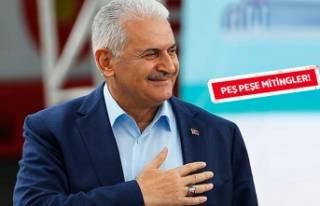 Başbakan'dan İzmir'de seçim maratonu!
