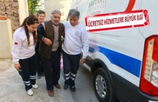 Bayraklı'da ücretsiz sağlık hizmetleri göz...