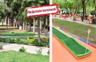 Bornova Belediyesi'nden çocuklar için mini...