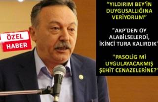CHP'li Bayır'dan önemli açıklamalar!