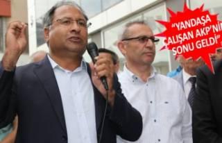 CHP'li Purçu: Üreten bir Türkiye'de adaleti...