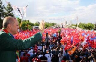 Erdoğan: Kürtlerin devleti Türkiye Cumhuriyeti'dir