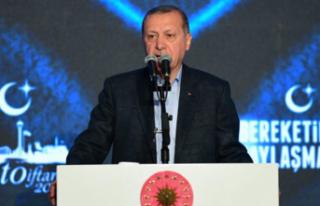 Erdoğan: Yatırımlarınızı sisteme sokun!