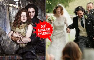 Game of Thrones'un Jon Snow'u ve Ygritte'i...