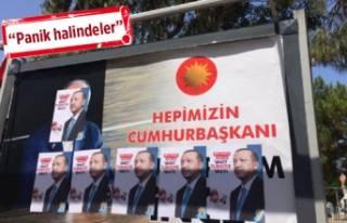 Güzelbahçe'de 'seçim afişi' krizi