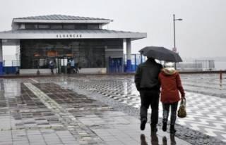İzmir'e kuvvetli yağış geliyor