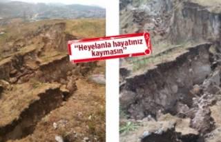 İzmir'in o bölgesi için 'heyelan' uyarısı!