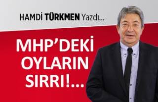MHP'deki oyların sırrı!..