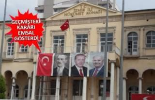 Valilik binasında poster krizi! İtiraz edildi, YSK'dan...