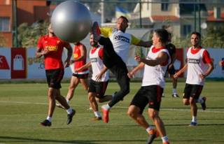 Göztepe, Galatasaray maçına hazırlanıyor