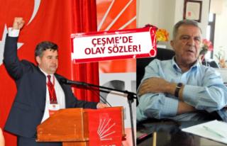 CHP Çeşme'de kılıçlar çekildi! Tütüncüoğlu'ndan...