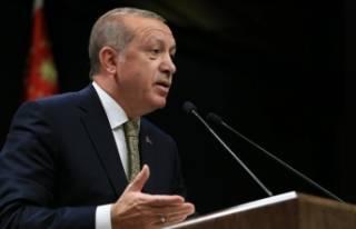 Erdoğan'dan sert açıklamalar!