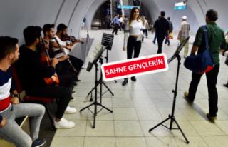 İzmir'de metro senfonisi
