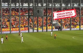 PFDK, Beşiktaş maçında Göztepe tribünlerine...