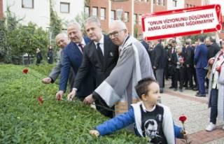 Atatürk İzmir Ekonomi Üniversitesi'nde anıldı