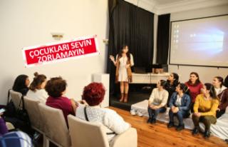 Bucalı kadınlara eğitim semineri