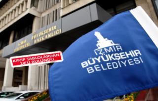 """Büyükşehir'den """"kayıp tablo"""" açıklaması"""