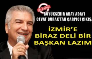 Cevat Durak, Büyükşehir aday adaylığını anlattı