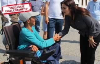 CHP'li Kılıç'dan engelliler için kanun...