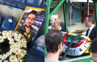 Fenerbahçeli taraftar Koray Şener'e veda