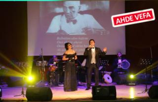 Gaziemir'de Ata'ya vefa konseri