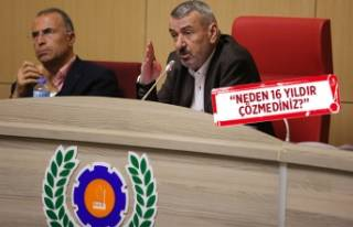 Gaziemir'de Sarnıç 2B sorunu: Başkan Şenol...