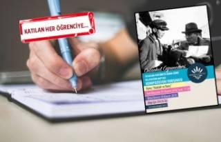 Karabağlar'da öğrenciler 'Atatürk'...