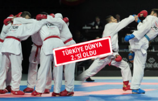 Türkiye Erkek Kumite Milli Takımı'ndan zafer