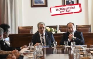Sağlık Eski Bakanı Akdağ Ege yönetimiyle buluştu