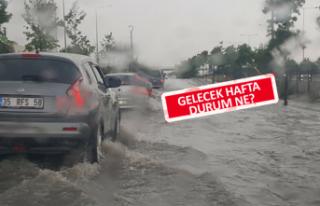 İzmir ve Manisa'ya rekor yağış