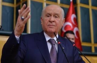 Bahçeli: Kılıçdaroğlu'nun milliyetçilik...