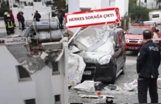 Bodrum'da panik: Bomba gibi patladı