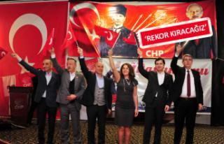 CHP Balçova'da gövde gösterisi yaptı