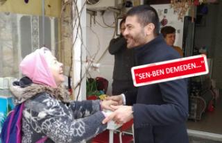Fatih Gürbüz Halkla Kucaklaşıyor