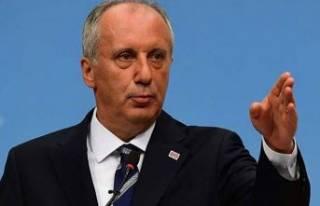 İnce'den CHP eleştirisi: Yanlışları Ağrı...