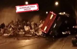 İzmir-Aydın Otoyolu'nda feci kaza!