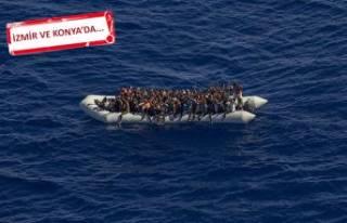 Kaçak göçmen operasyonu: 8 kişi tutuklandı!