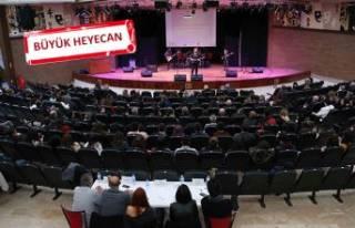 Karşıyaka'da liseli gençlerden muhteşem final
