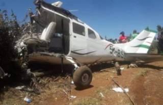 Kenya'da uçak düştü: Kazada kurtulan olmadı!