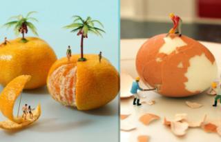 'Minyatür insanlar' büyük beğeni topluyor