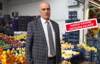 Sebze-meyve fiyatlarına 'kar oranı' önerisi