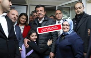 Zeybekci'ye Mardinli desteği