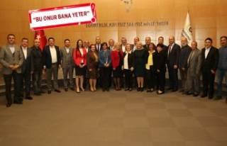 Gaziemir'de son Meclis Toplantısı'nda...