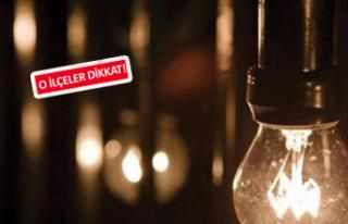 İzmir'de 13 ilçede elektrik kesintisi!