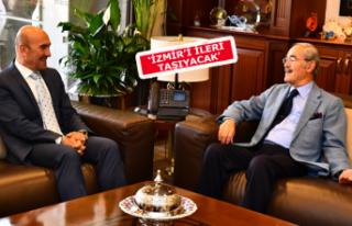 Büyükerşen'den Başkan Tunç Soyer'e...