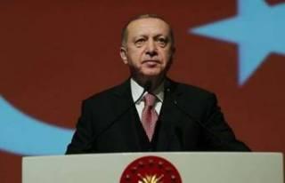 Cumhurbaşkanı Erdoğan'dan Notre Dame mesajı