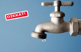 İzmir'in 3 ilçesinde su kesintisi