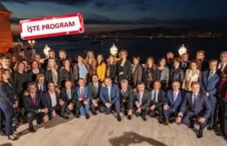 Soyer ve İzmir'in ilçe belediye başkanları...