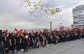 Atatürk Liseliler, milli mücadelenin 100'üncü...