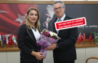Başkan Arda'dan CHP kadın örgütüne mesaj